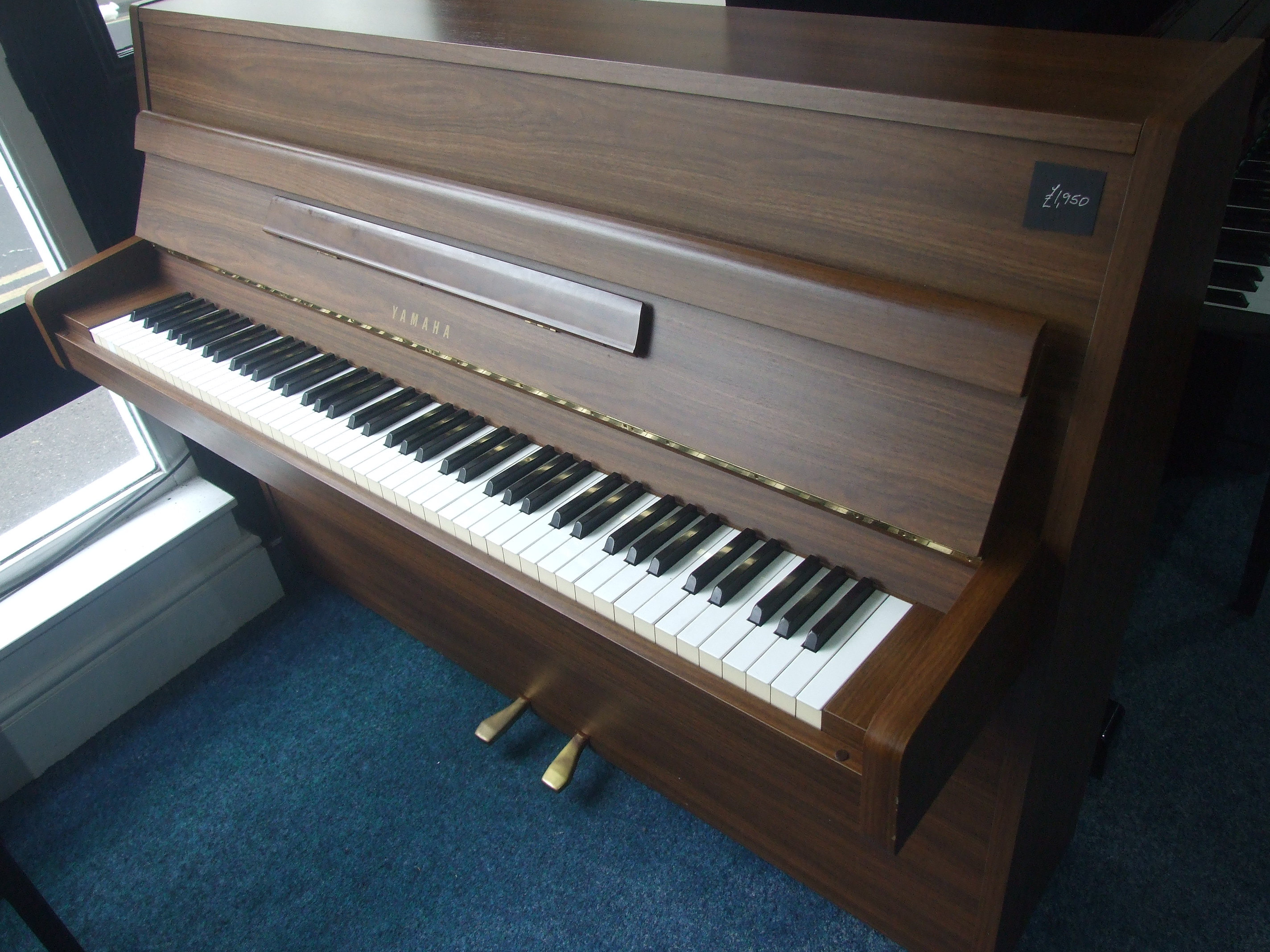 Walnut m108 yamaha upright yamaha pianos for sale call for Yamaha b1 piano price